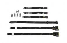 Ремни безопасности задние Уаз 3151, Хантер (комплект 3 штуки) (СКМ / Алатырь) ИШГА.458234.063/-063-01+458233.015