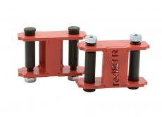 Серьги рессоры в сборе (стандарт / комплект 2 штуки) (redBTR / 631010)