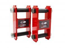 Серьги рессоры в сборе Уаз Патриот, Хантер redBTR удлиненные (лифт 20 мм) (комплект 2 штуки)