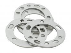 Шайбы колесные (проставки расширения колеи) алюминиевые (разболтовка 5x139,7, 6x139,7) (посадочный диаметр СВ 108 мм) (толщина 6 мм)  (redBTR 741105)