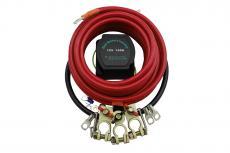 Устройство развязки 2х аккумуляторов (12В, 140А / полный установочный комплект) redBTR 891240